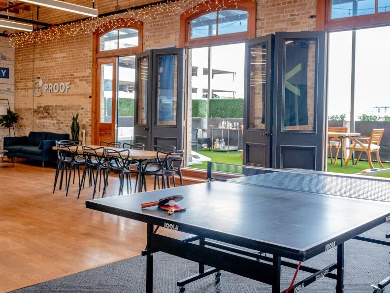 open plan office productivity
